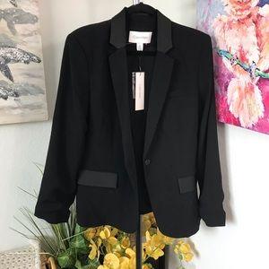 Calvin Klein Black Blazer Size 14 NWT